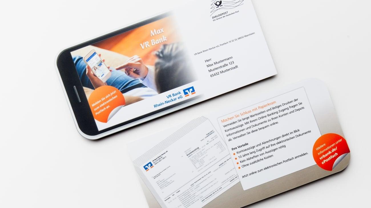 Smartphone - Postkarte
